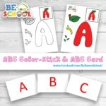 ABC Color-Stick & ABC Card
