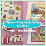 Free Mini Speech Baby Pack Game