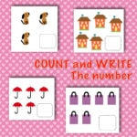 Count and Write number